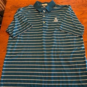 Men's Peter Millar Golf Polo Shirt Large
